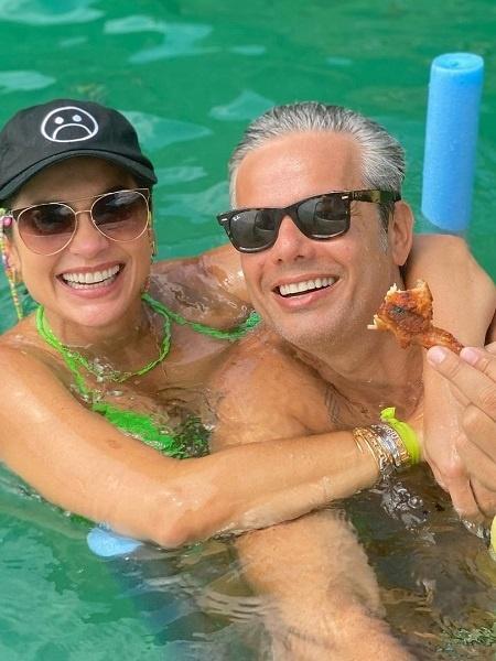 Otaviano Costa e Flávia Alessandra curtem férias no Rio de Janeiro - Reprodução/Instagram