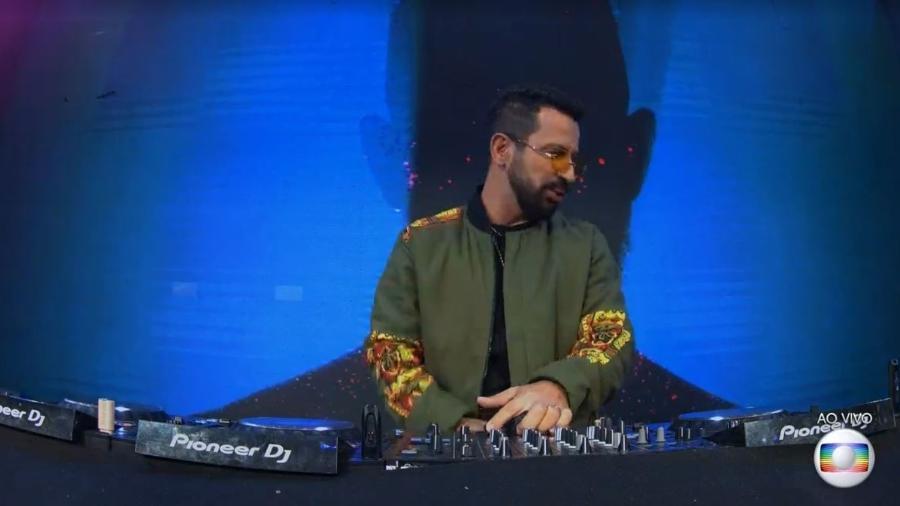 Dennis DJ  em festa do BBB 21; artista foi citado na Justiça por cancelamento de show e pedido de indenização  - Reprodução/ Globoplay