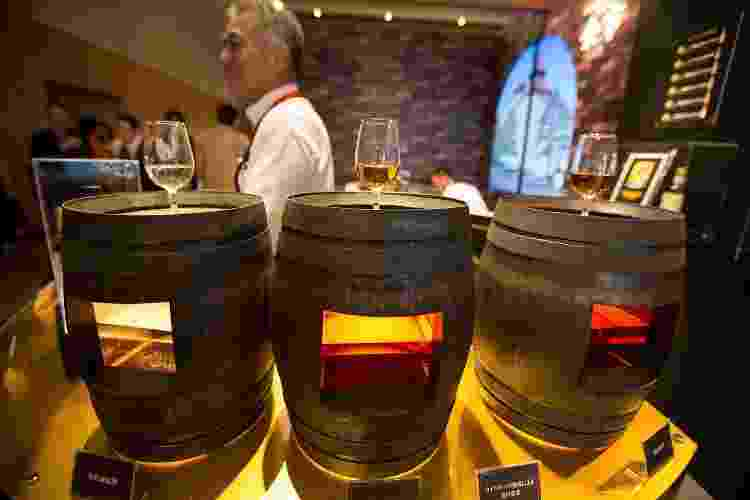 Demonstração de envelhecimento da destilaria Nikka - Jeremy Sutton-Hibbert/Getty Images - Jeremy Sutton-Hibbert/Getty Images