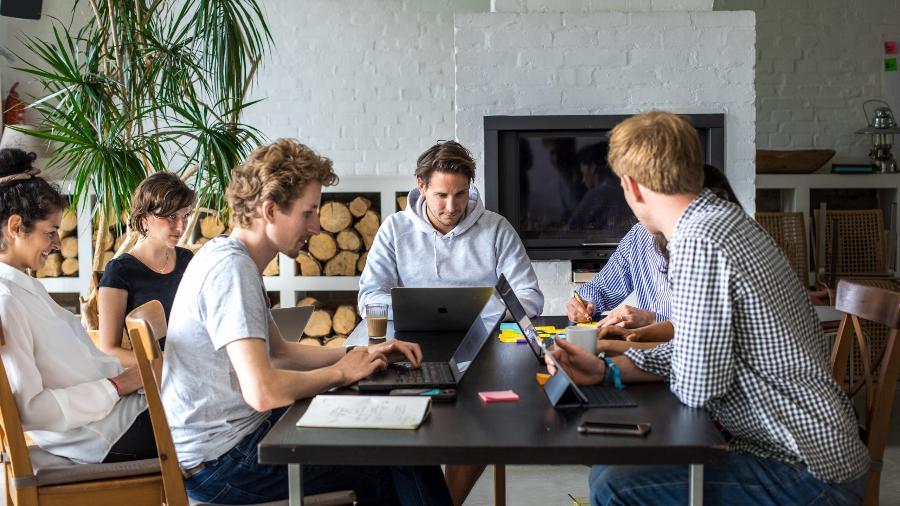 A equipe da empresa alemã Purpose - Reprodução/Purose