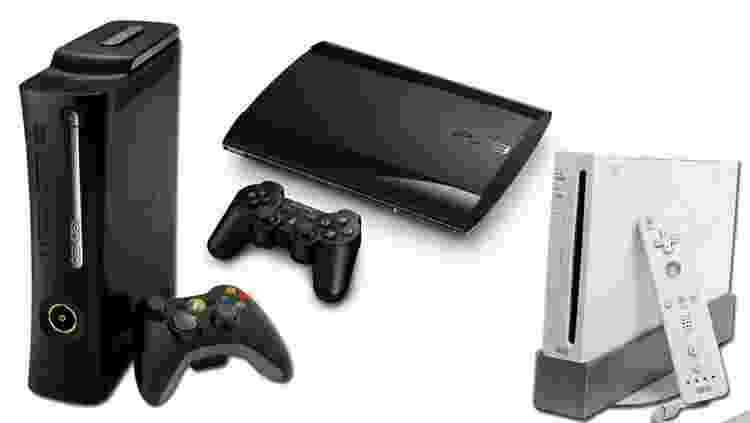 Consoles em 2005 - Reprodução - Reprodução