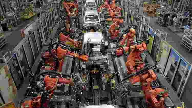 Fábrica da Ford na Índia - Babu/Reuters - Babu/Reuters