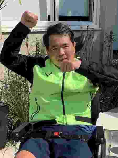 Fundador das redes China in Box e Gendai, Robinson Shiba sofreu acidente de moto em 2019 e teve traumatismo crânioencefálico  - Reprodução/Instagram @robinsonshiba - Reprodução/Instagram @robinsonshiba