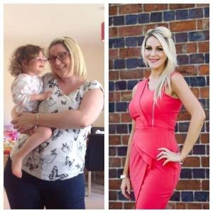 Com ajuda de um grupo, Zoey Patrick eliminou mais de 30 quilos - Reprodução/Facebook