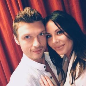 Nick Carter com a mulher,  Lauren Kitt Carter  - Reprodução/Instagram/nickcarter