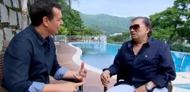 """Dedé Santana relembra perdas em sua vida em entrevista ao """"Domingo Espetacular"""" - Reprodução/TV Record"""