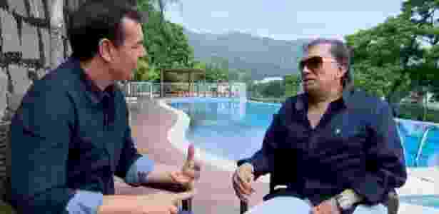 Dedé lamenta não ter administrado dinheiro tão bem quanto Renato Aragão - Reprodução/TV Record