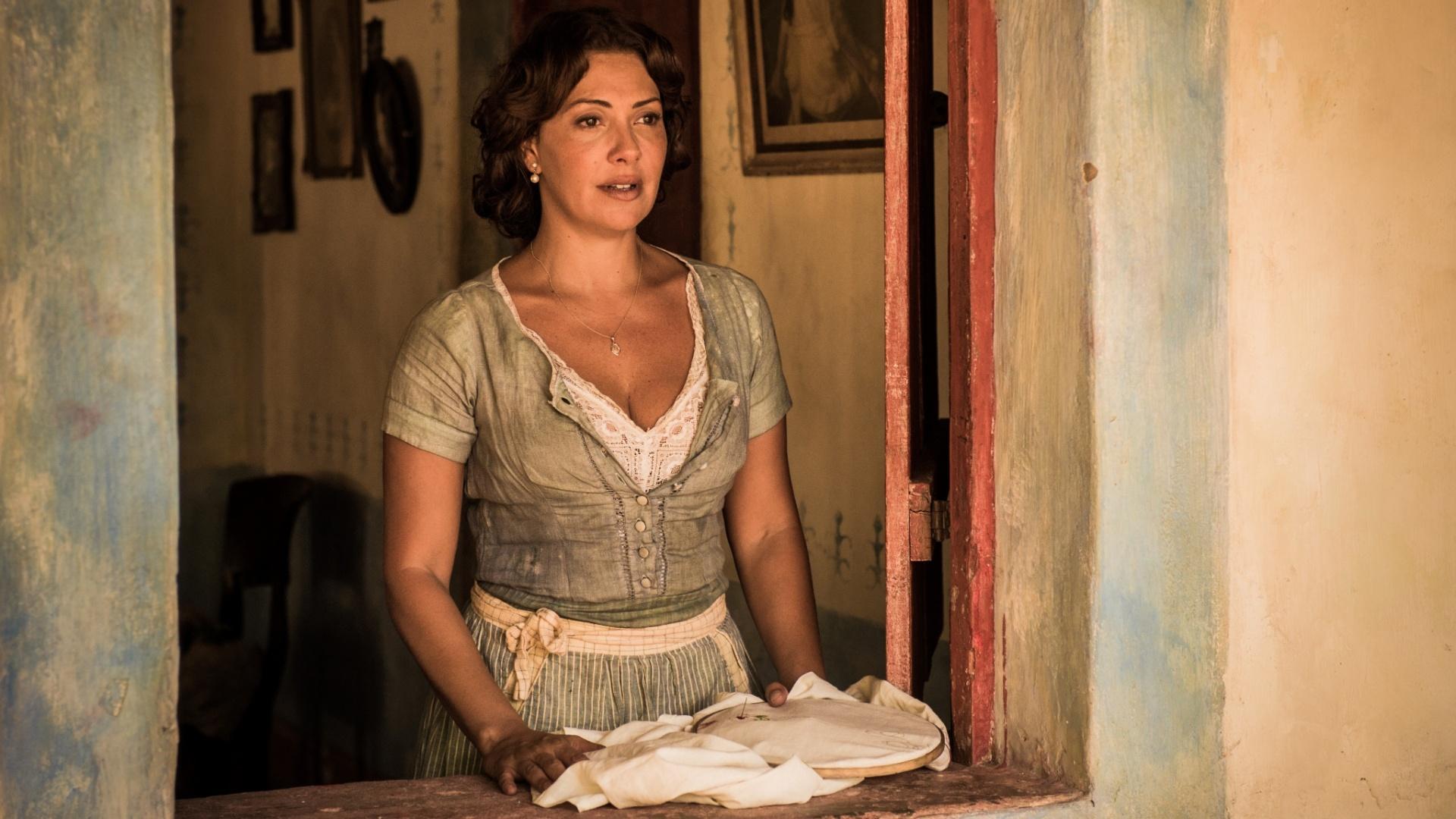 A atriz Fabiula Nascimento, que viverá Eulália em