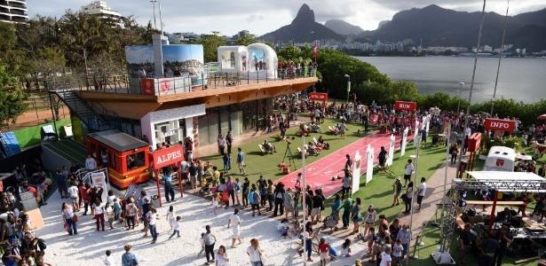 Baixo Suíça, a casa da Suíça nos Jogos Olímpicos Rio 2016 - Divulgação/Riotur