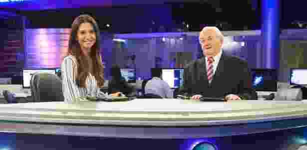 """Boris Casoy estreia hoje no """"Rede TV News"""", ao lado de Amanda Klein - Artur Igrecias/Divulgação/RedeTV! - Artur Igrecias/Divulgação/RedeTV!"""