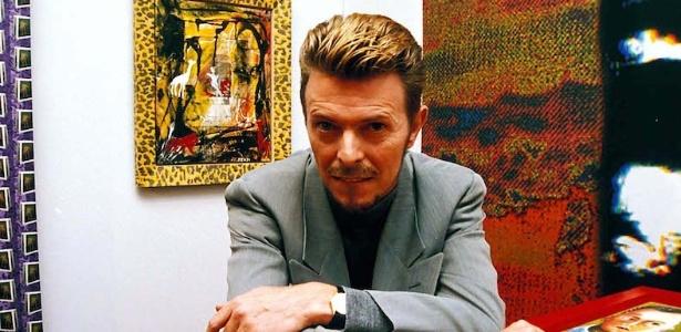 O cantor David Bowie, que deixou uma rica coleção de arte na Inglaterra - Getty Images