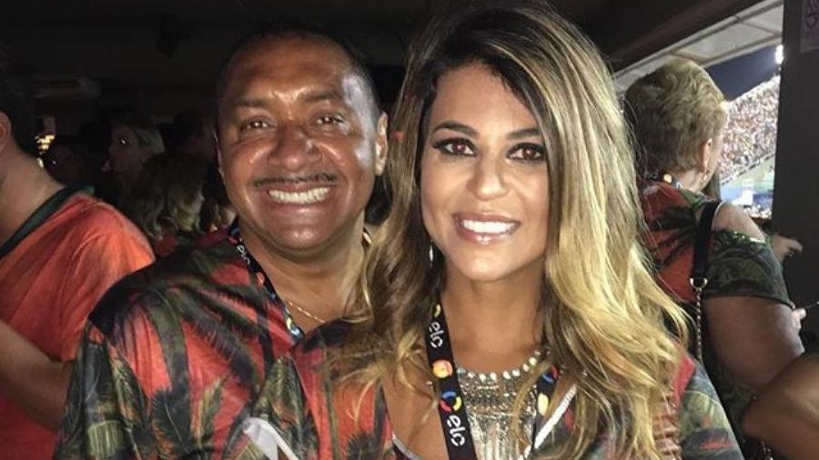 O deputado federal Tiririca e a mulher, Nana Magalhães, estão juntos há 20 anos - Reprodução/Instagram