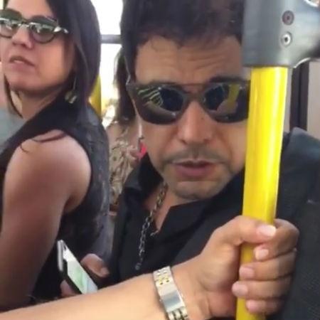 Zezé Di Camargo desmente que está em transporte público em vídeo que circula na web - Reprodução/Instagram/zezedicamargo