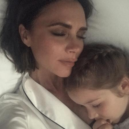 Victoria Beckham e a filha, Harper - Reprodução/Instagram/victoriabeckham