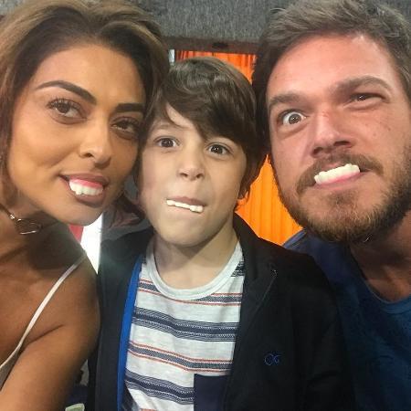 Juliana Paes (Bibi), Emílio Dantas (Rubinho) e João Bravo (Dedé) - Reprodução/Instagram