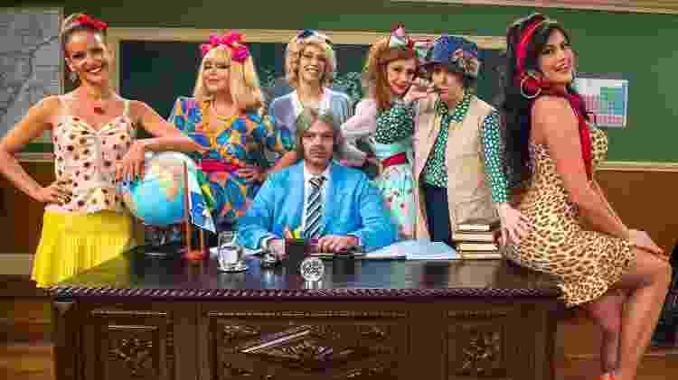"""Gravações da """"Escolinha"""" serão retomadas neste mês - Estevam Avellar / TV Globo"""