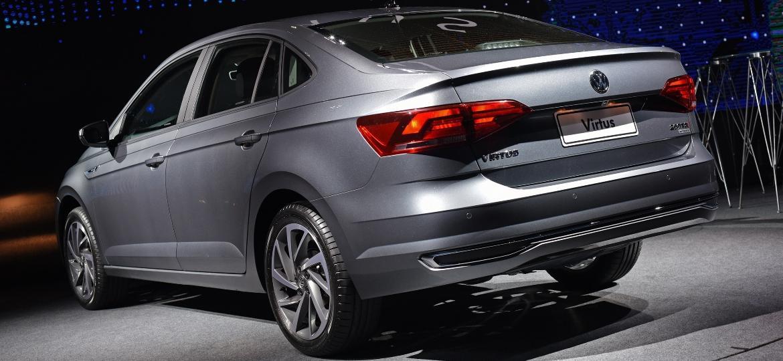 Volkswagen Virtus 200 TSI Highline promete ser o sedã mais tecnológico do segmento - Murilo Góes/UOL