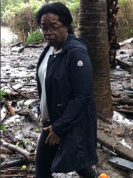 Oprah tem casa atingida por lama nos EUA - Reprodução/Instagram/oprah