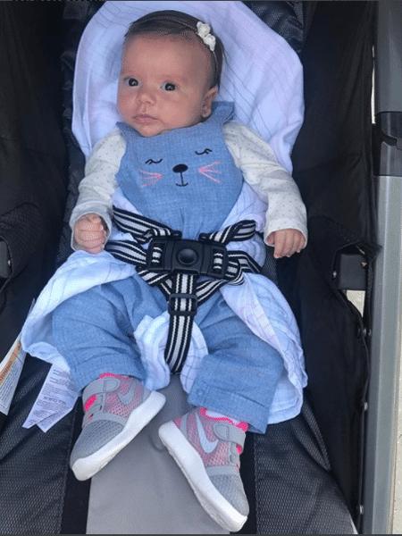 Jane, filha de Patrícia Abravanel e Fabio Faria - Reprodução/Instagram
