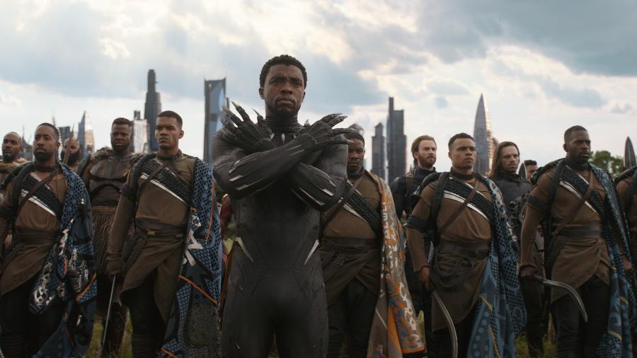 """""""Vingadores: Guerra Infinita"""" bateu vários recordes no fim de semana - Divulgação"""