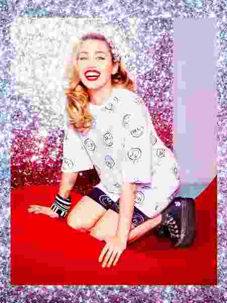 Miley lança linha de roupas e calçados - Reprodução/Instagram/Converse