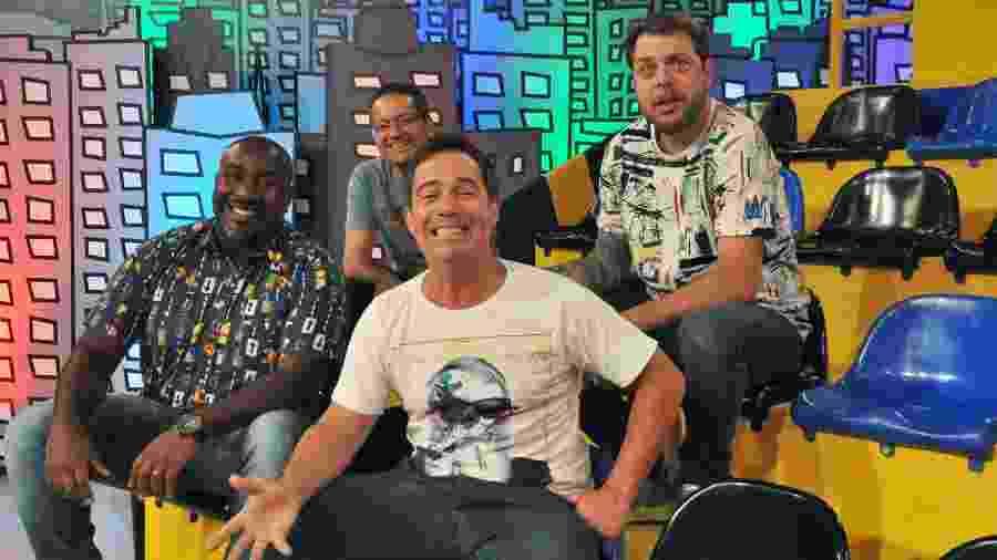 Elenco do programa Encrenca, da Rede TV! - Rede TV!/Divulgação