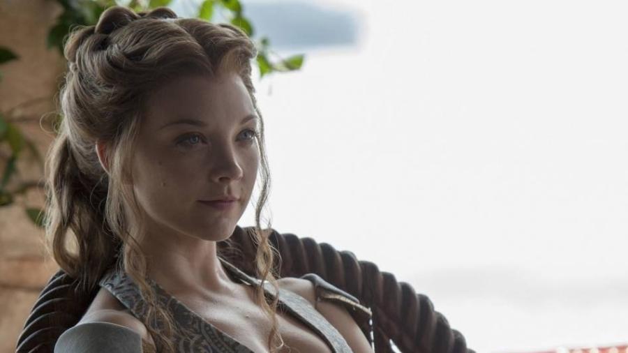 """A atriz Natalie Dormer em """"Game of Thrones"""" - Reprodução"""