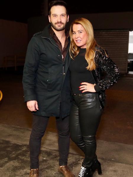 Zilu e o namorado, Marco Ruggiero, participam do Milkshake Festival - Manuela Scarpa/Brazil News