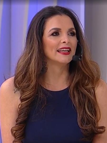 """Luiza Ambiel participou do """"Superpop"""" - Reprodução/RedeTV!"""