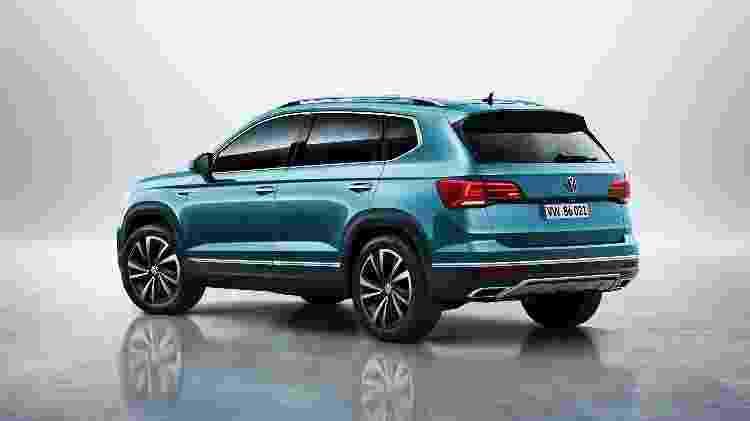 SUV será posicionado entre T-Cross e Tiguan - Divulgação