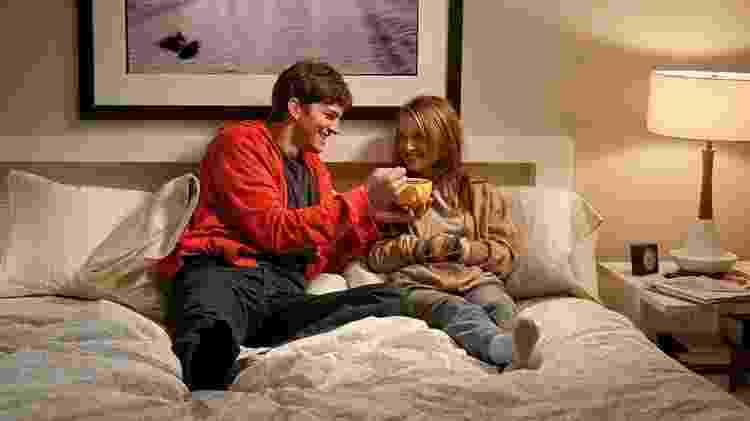 """Natalie Portman e Ashton Kutcher em cena de """"Sexo sem Compromisso"""" - Divulgação - Divulgação"""