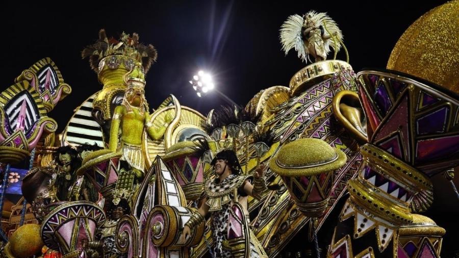 Desfile da Vai-Vai no Carnaval 2019 - Simon Plestenjak/UOL