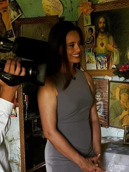 A jornalista Carla Vilhena - Arquivo pessoal