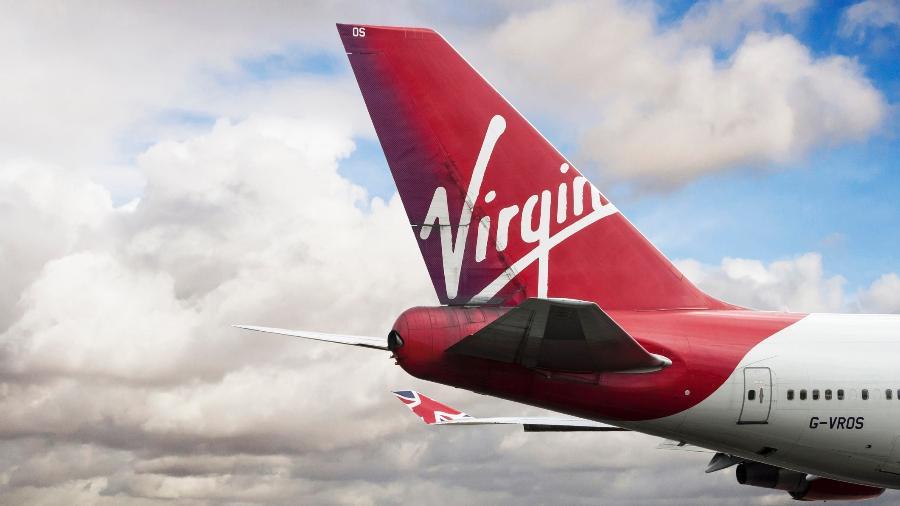 Avião da companhia aérea Virgin Atlantic - EdithRum/Getty Images