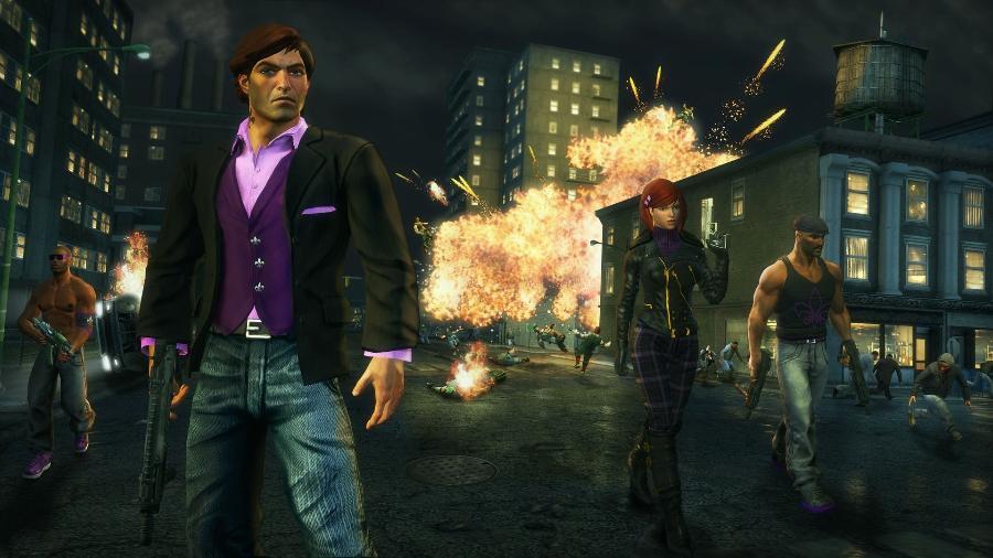 """Imagem do game """"Saints Row: The Third"""" (2011) - Divulgação"""