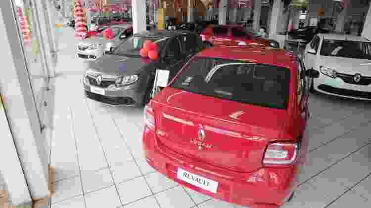 Concessionaria de carros - Edson Silva/Folhapress - Edson Silva/Folhapress