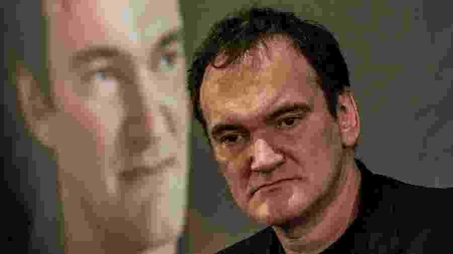 O cineasta Quentin Tarantino - Jeff Pachoud/AFP