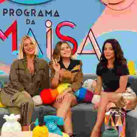 Giovanna Ewbank e Ana Paula Padrão serão as convidadas da Maisa neste sábado - Gabriel Cardoso/SBT