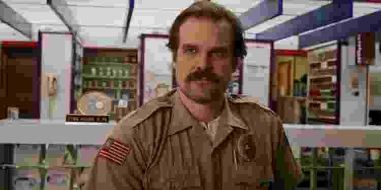 Jim Hopper (David Harbour) na terceira temporada de Stranger Things - Divulgação - Divulgação