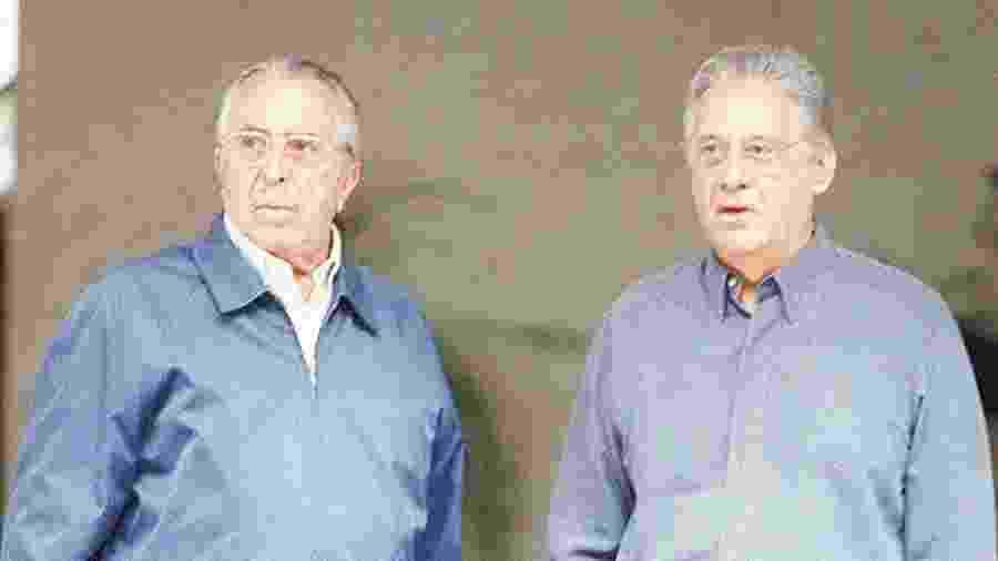 Roberto Gusmão e Fernando Henrique Cardoso em registro de 2001 - Vania Delpoio/Folhapress