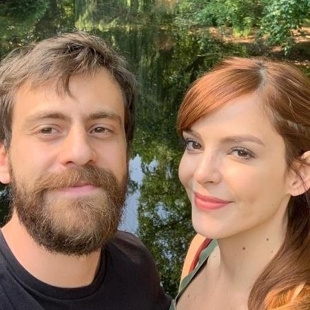 Tomas Bertoni e Titi Müller são pais de Benjamin - Reprodução/Instagram