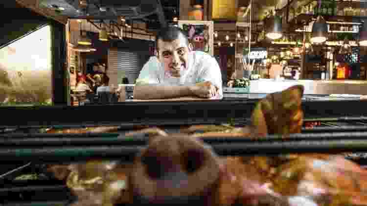 Jefferson Rueda, chef da cozinha da Casa do Porco  - Lucas Lima/UOL - Lucas Lima/UOL