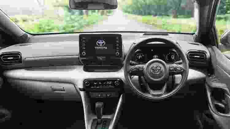Novo Toyota Yaris 3 - Divulgação - Divulgação