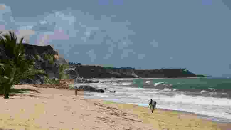 Praia do Rio da Barra, em Trancoso  - Eduardo Vessoni/UOL