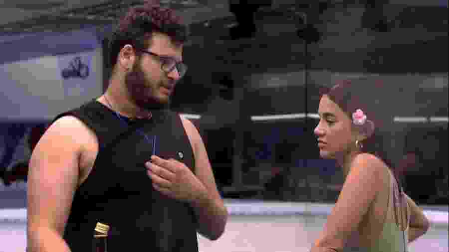 BBB 20: Victor Hugo conversa com Manu - Reprodução/Globoplay