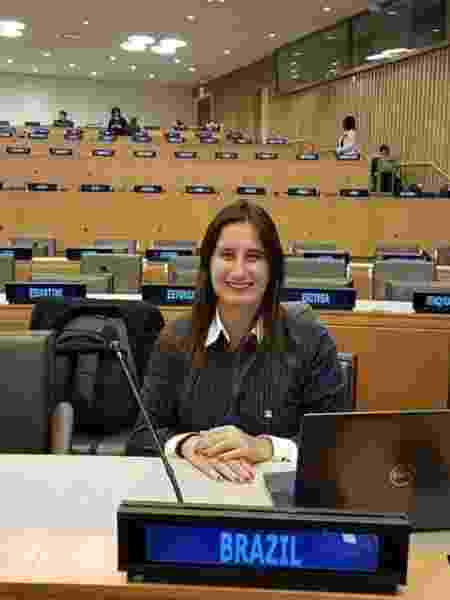 Fernanda Lana, bióloga que promove a ciência do Brasil na ONU - Arquivo Pessoal