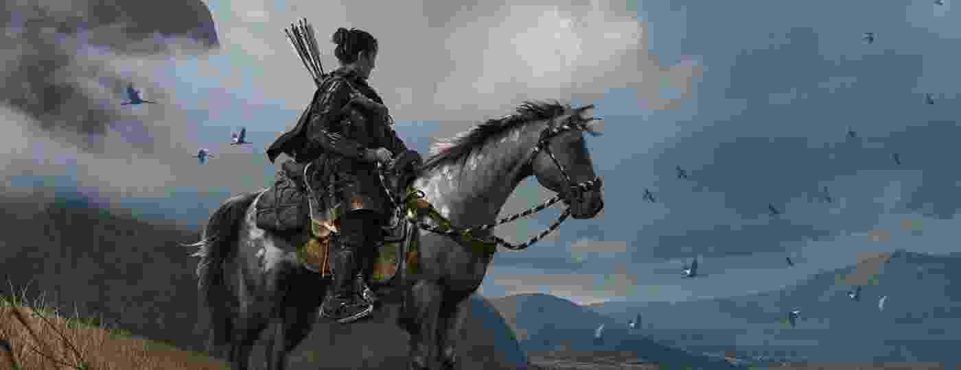 A guerra contra o exército mongol é cruel, e as belas paisagens entram em contraste vilas abandonadas e templos repletos de refugiados. - Divulgação