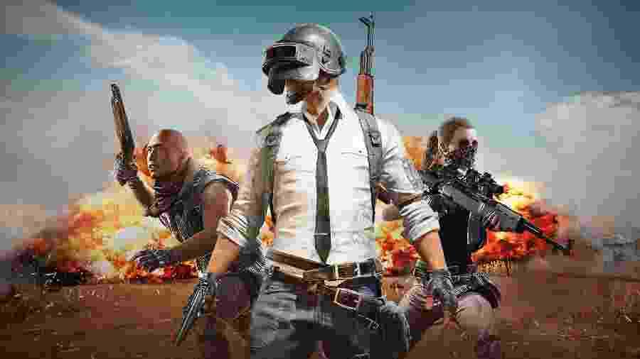 """PlayerUnknown""""s Battlegrounds é um jogo do gênero Battle Royale e está disponível para download no PC, PS4 e Xbox One, e em versão mobile para Android e iOS - Divulgação/Twitter"""