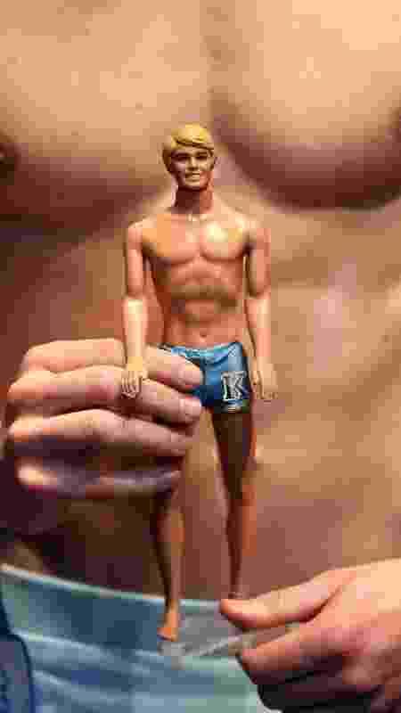 ken e modelo humano - Miguel Villagran/Getty Images - Miguel Villagran/Getty Images