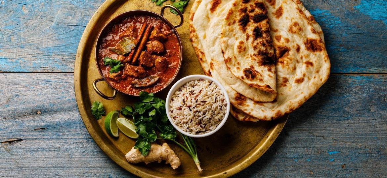 Pode-se usar até 30 condimentos em um único prato da culinária indiana - Getty Images/iStockphoto